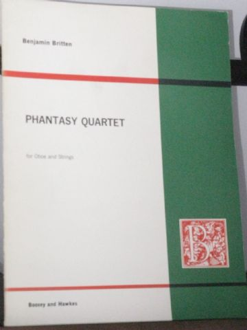Britten B - Phantasy Quartet Op 2 for Oboe & Strings
